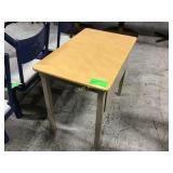 30 inch by 22 inch table