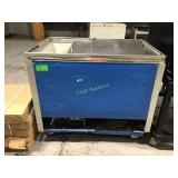 46 inch wide refrigerated catering cooler on