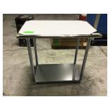 """New 24"""" x 36"""" stainless steel worktable no"""