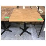 """30"""" x 30"""" table"""
