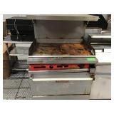 Vulcan 36 inch gas flat grill oven condition