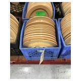 Crate of plates