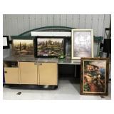For various framed pictures frames in fair