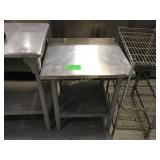 24 inch stainless steel top equipment stand with