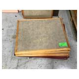 Smaller rectangular table tops only