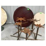 5 - 48 inch round table tops and bases