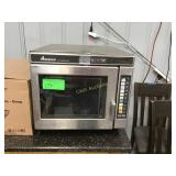 Amana commercial microwave condition unknown
