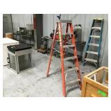 6 foot fiberglass Keller ladder