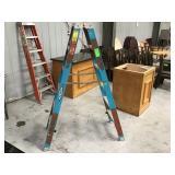 6 foot warner fiberglass ladder