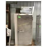 McCall Single door refrigerated walk-in cooler