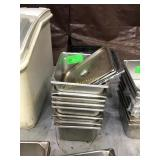 Stainless steel inserts with four lids