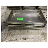 Stainless steel chafing pans