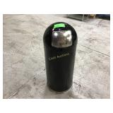 Garbage cans with metal insert