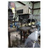 Rockwell/Delta 15-201 drill/tapping machine -