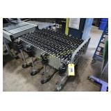 Collapsible portable conveyer  (3 sections,