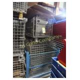 Lot:  Work baskets - various sizes