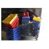 Lot:  Plastic work bins - various sizes