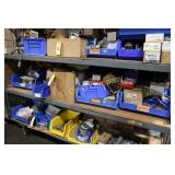 Lot: Nuts, bolts, hardware - contents of shelf