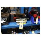 Lot:  Central Air angle grinder and Dynabrade air
