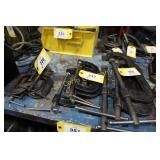 "Lot:  3 ""C"" clamps - 6"""