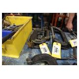 "Lot:  3 ""C"" clamps - 5"""