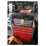 Lot:  Rolling tool box, Craftsman portable tool