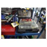 Lot:  4 boxes of magnetic bits and drills