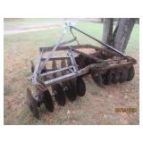 LOT #131 DISC PLOW TRACTOR ATTACHMENT
