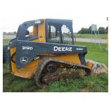 2012 John Deere 319D Track Skidsteer