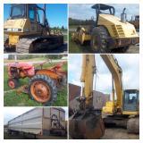 Construction Equipment, Trucks and Farm Equipment