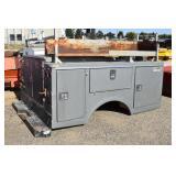 Northwest Bodies 6-Door Service Body With Ladder Rack, Fiberglass