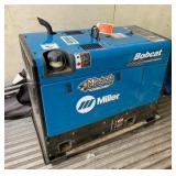 Miller Bobcat 225 AC/DC Welder 11,000 Watt Generator With Leads and Cover