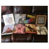 Lot Of (8) Vinyl Records