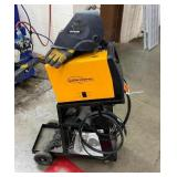 Northern Industrial Flux-Core 125 Wire Feed Welder With Cart and Helmet