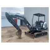 2014 Terex TC35 Hydraulic Mini Excavator