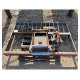 "Gehl 5,000 Lb. 66"" Hydraulic Rotating Fork Carriage"
