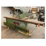 Northfield International Model: GSS 16 Rolling Table Saw