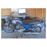 Kawasaki 350 Motorcycle