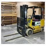 "TCM FCG 20 LP Forklift, 7320 Hours, 3400lb Capacity, 189"" Max Lifting Height"
