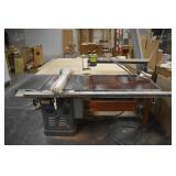 Rockwell Unisaw Right Tilt Table Saw Model: 34-761 Comes With T-Square Saw Fence And Brett Guard Tab