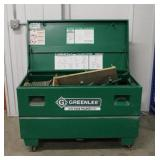 Greenlee 2042 Cable Puller w/ 16 Cu Ft. Storage Box On Wheels