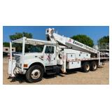 IH 4900 110' Boom Truck, 2000 Freightliner Semi With Cat 3406E 2WS Engine & More