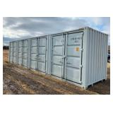 New 40' Sea Container, New Storage Buildings, New Work Benches, New Tires, New Dozer Blade & More