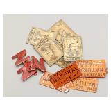 (15) Antique Tobacco Tags Lot #5