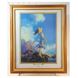 "Maxfield Parrish ""Ecstasy"" Print"