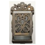 Cast Iron Match Safe