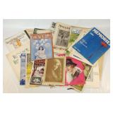 Sheet Music & Ephemera Lot