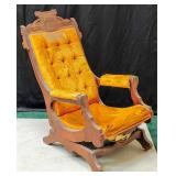 Antique Eastlake Rocking Chair