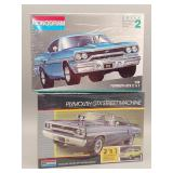 (2) Plymouth GTX 1:25 Scale Models #1