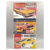 (3) Dodge Challenger Scale Models #1